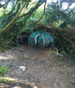 Blue Bell Fairy House