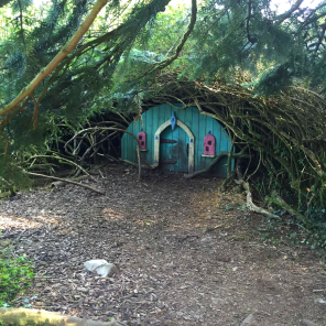 Blue Bell Fairy House