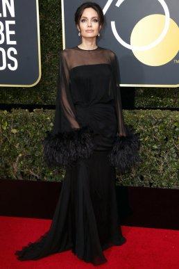 Angelina Jolie in Atelier Versace gown