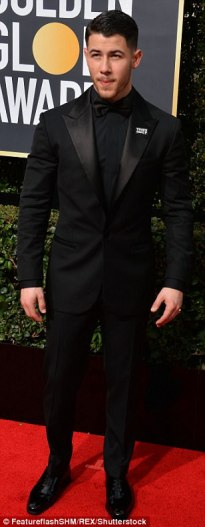 Nick Jonas in Versace