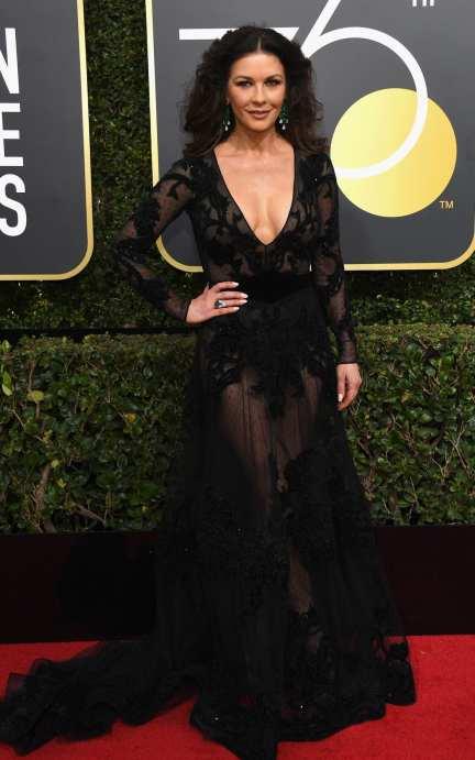 Catherine Zeta-Jones in a Zuhair Murad gown