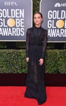 Alicia Vikander in Louis Vuitton.