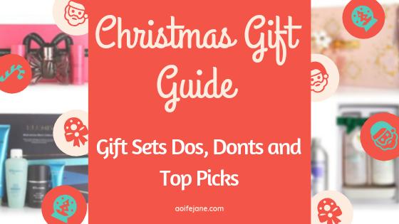 Christmas Gift Sets.Christmas Gift Guide Gift Sets Dos Donts And Top Picks